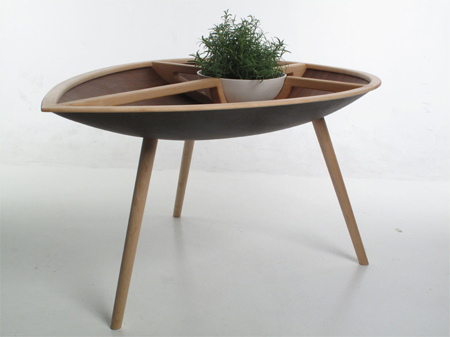 Spire table by Philipp Von Hase