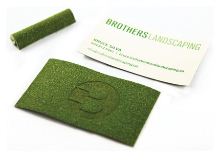Turf business cards