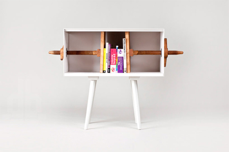 Twist me bookcase