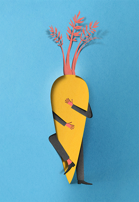 Awesome paper cuttings by Eiko Ojala