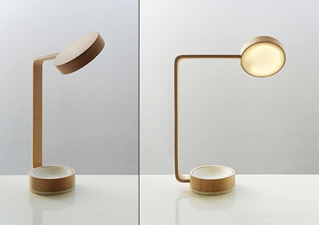 Perfect circles lamp