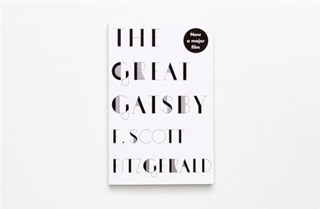 Sinem Erkas' jazzy typefaces for F Scott Fitzgerald covers