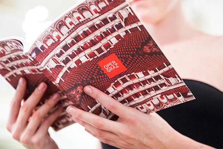 Graz Opera brochure design