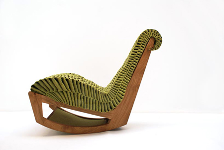 Ivy chair by Enrico Gondim