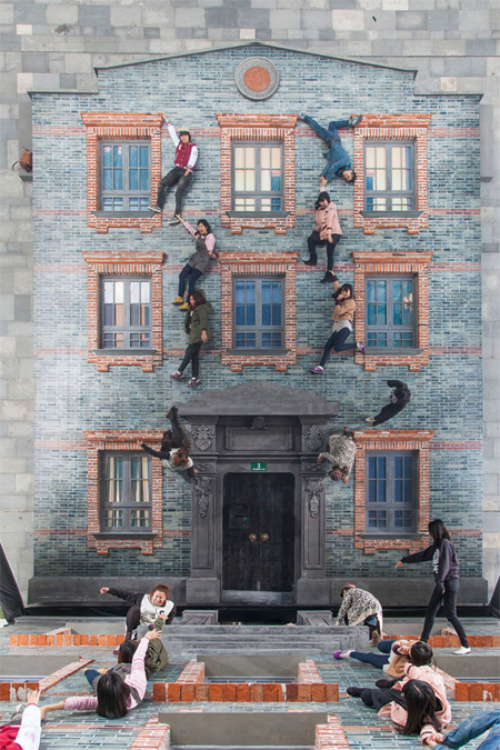 Optical illusions by leandro erlich