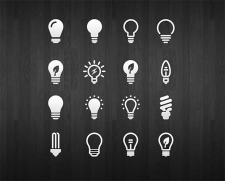 light-bulb-icon-set
