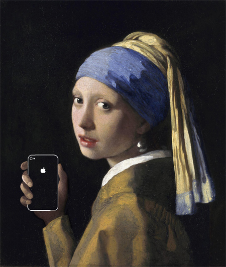 21st century technology added onto famous masterpieces