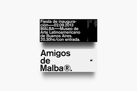 Branding for Museum of Latinoamerican Art of Buenos Aires