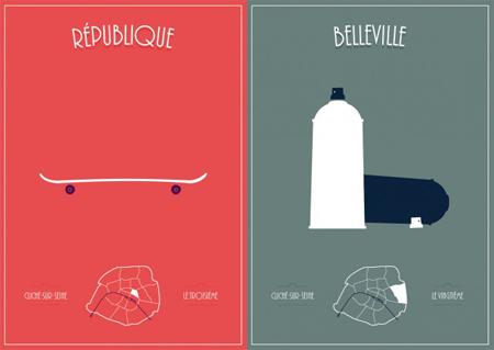 Paris Clichés Posters
