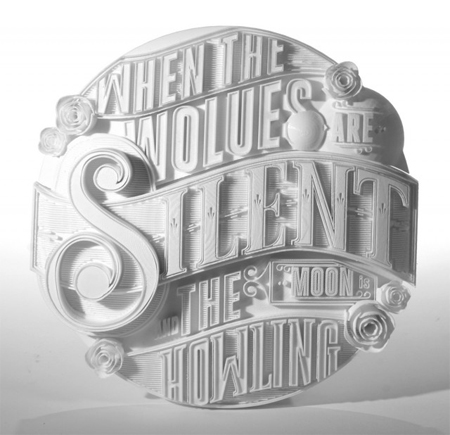 3D Type Sculptures Animation