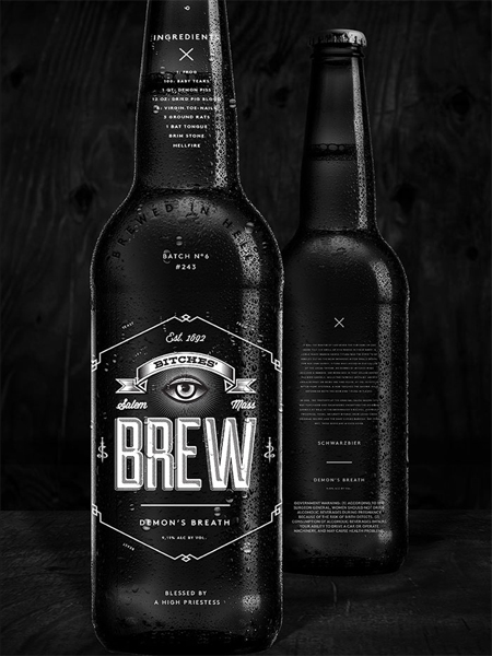 Bitches Brew concept branding