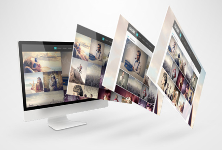 A responsive design gallery