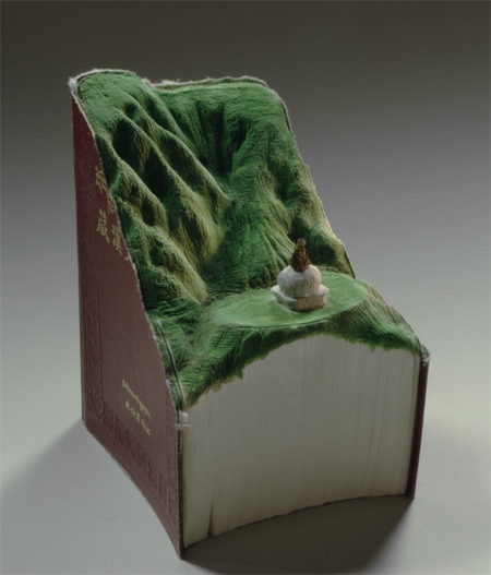 Amazing book carvings by Guy Laramee