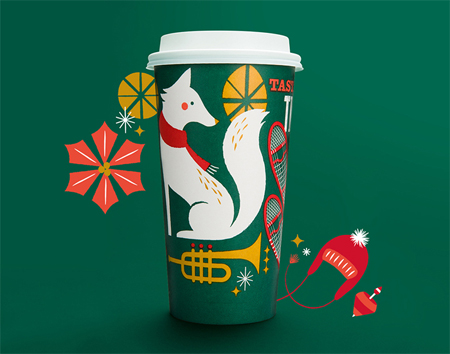 Panera bread holiday packaging