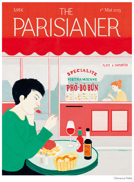 The Parisianer covers