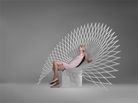 Uufie peacock chair