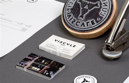 Corporate identity for Viscvle Deli