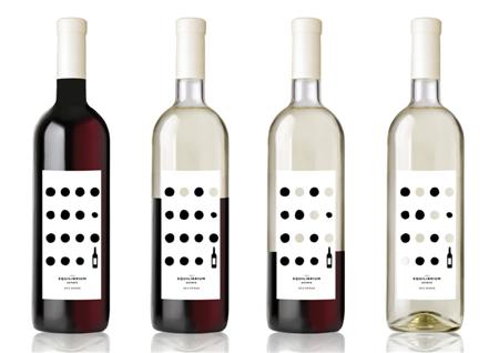 Equilibrium Estate Wine labels