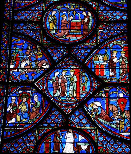 Chartres_-_Vie_de_Charlemag