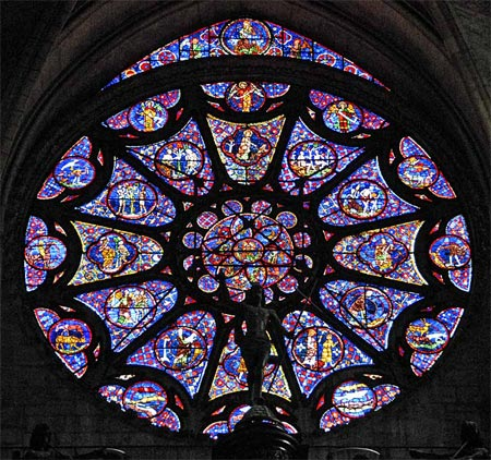 17 examples of gorgeous stained glass windows for Rose window design
