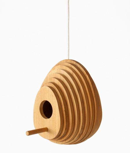 Tree Ring Birdhouse