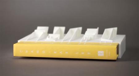 World's First 3D-Printed Book Cover