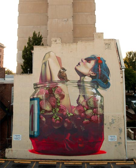 Surreal Murals by Etam Cru