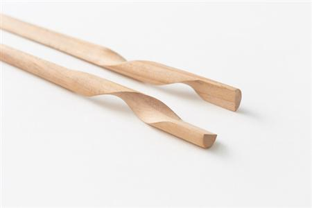 Two-in-one chopsticks design