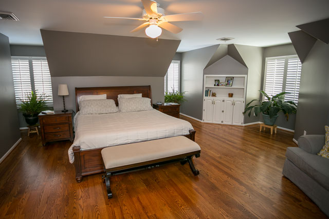 master bedroom renovation this week on 12326
