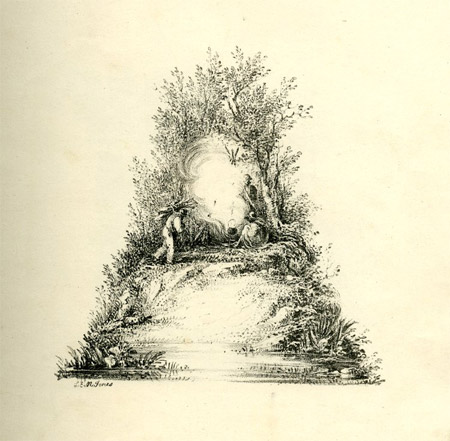 19th century landscapes alphabet