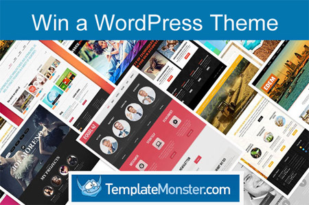Win a WordPress theme from TemplateMonster