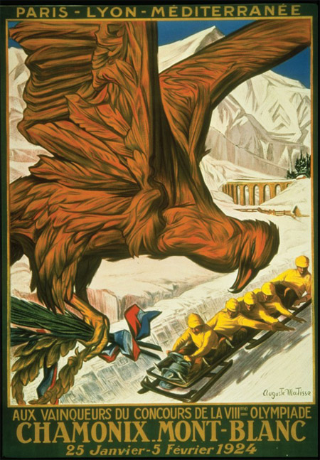 The evolution of the Winter Olympic posters