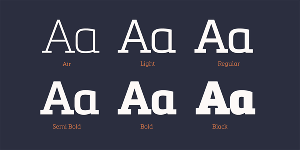 10 awesome slab serif fonts for your designs