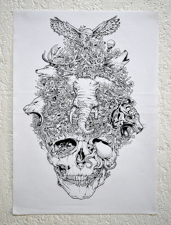 Stunning Sketching By Kerby Rosanes
