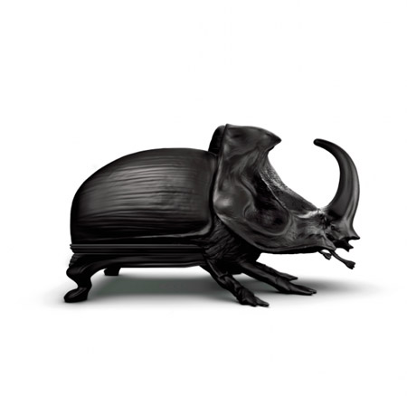 3D printed animal chair miniatures