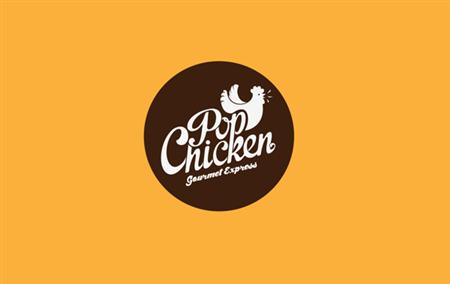 PopChicken Gourmet Express visual identity