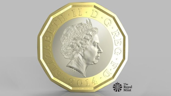 Most secured coins ever to be introduced in the UK in 2017