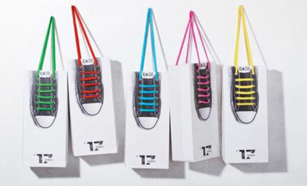 product packaging design for Götz shoes