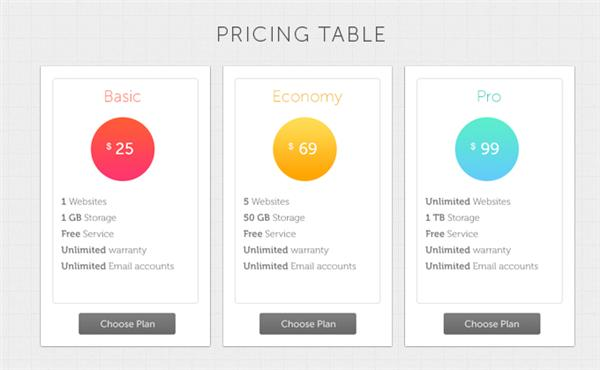 pricing-table