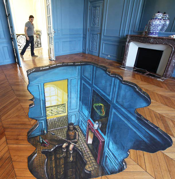 Impressive 3D street art that will trick your eye