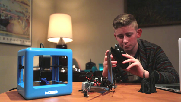 The Micro: the 3D printer that raised $1M on Kickstarter in just one day