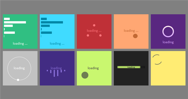 Pure-CSS3-Loaders