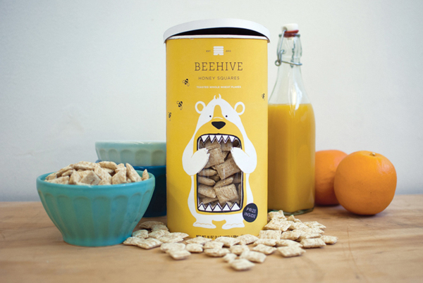 Cute packaging for Beehive Honey Squares