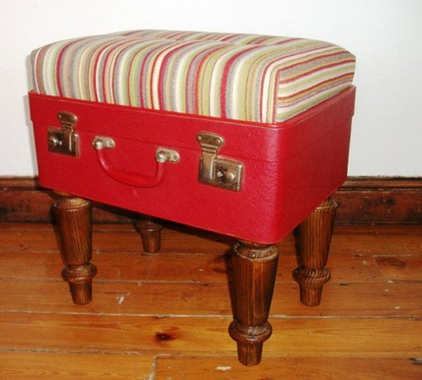 How to creatively use your old suitcases