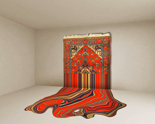 The carpet revisited: spectacular work by Faig Ahmed