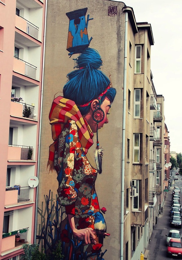 Graffiti art by Sainer and Bezt
