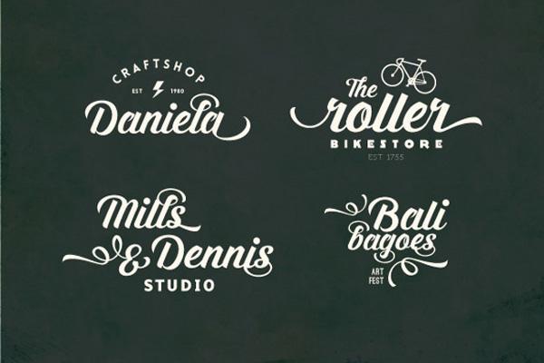 Jacobin funds Vintage script fonts