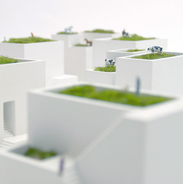 Bonkei planters let you create mini villages