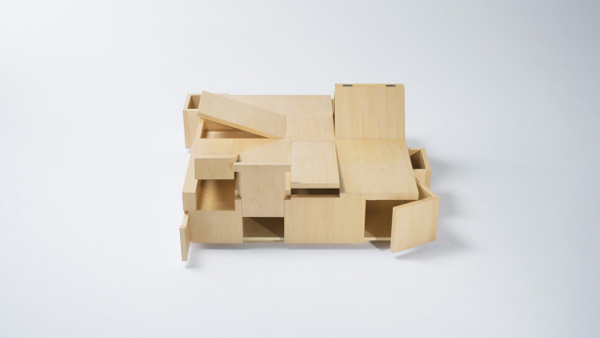 Kai table: a table filled with secret compartments