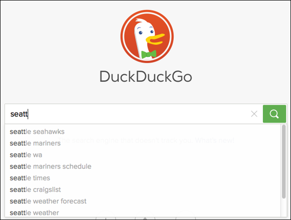 Time to switch to DuckDuckGo